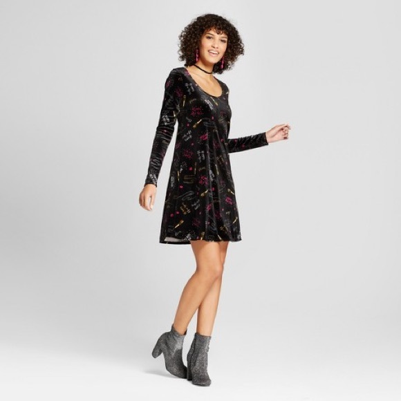 3c89db0df608 Xhilaration Dresses   Happy New Year Velvet Dress   Poshmark